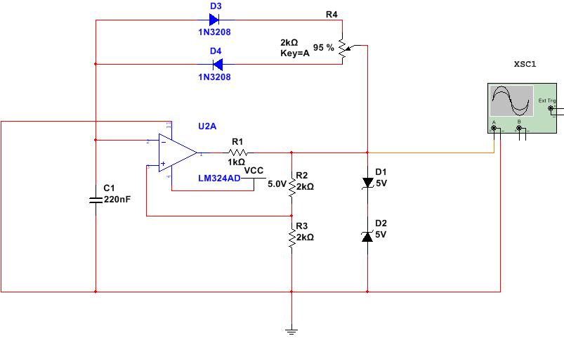 用lm324制作方波发生电路不出方波,怎么办?电路图如下
