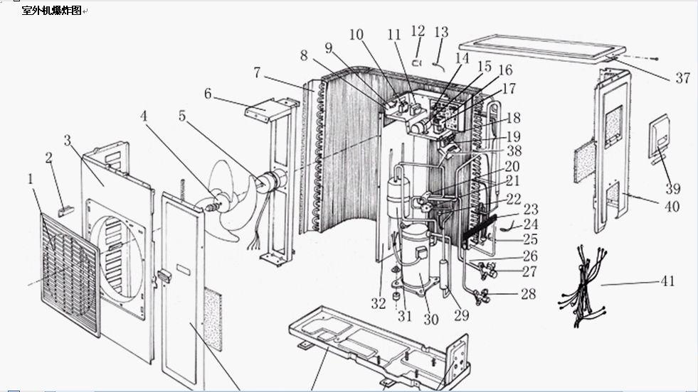 空调外机结构