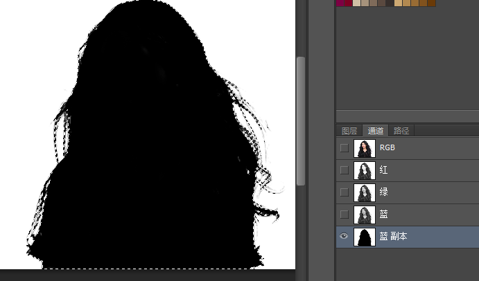 photoshop怎么抠头发丝图片