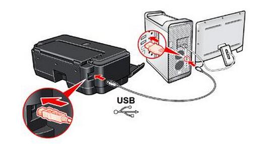 展开全部 打印机安装步骤: 1,按下图方式连接线路.