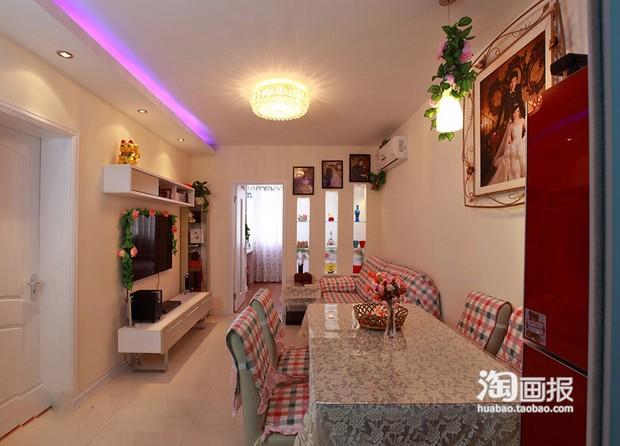70平米的一室一厅,想把客厅隔出个小卧室,隔断是如何设计?
