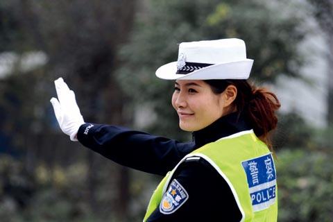 最美女交警的追梦