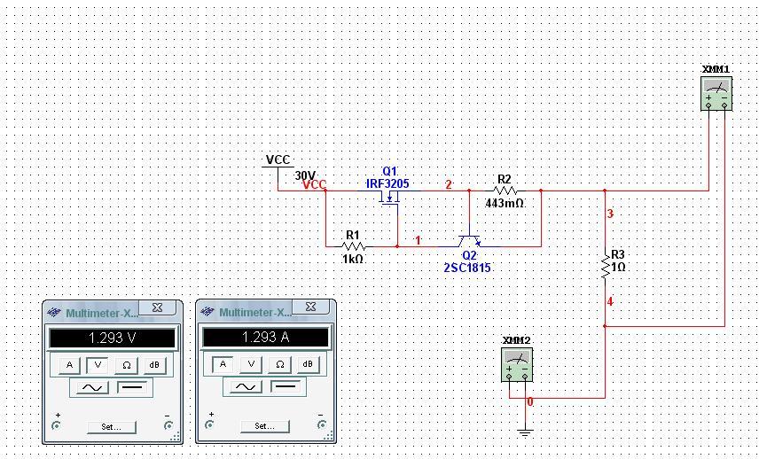场效应管恒流源电路图