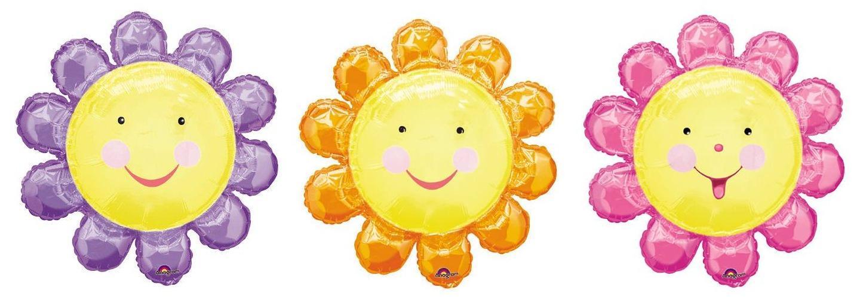 求太阳花或者太阳笑脸的卡通图片~~!