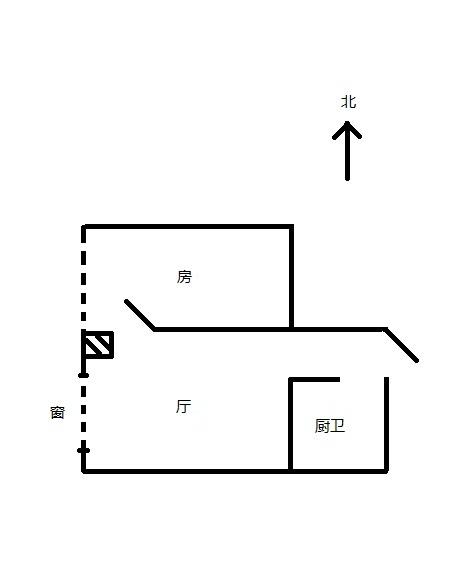 家里想在天花的位置装祖先神位,房子结构如图,应该装在哪个位置为宜图片