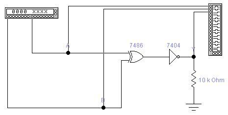 同或门是基本的逻辑门,因此在ttl和cmos集成电路中都有标准逻辑芯片.