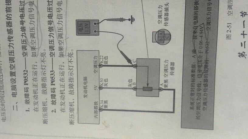 您好.这个是汽车空调压力开关电路图.【汽车问题,问汽车大师.