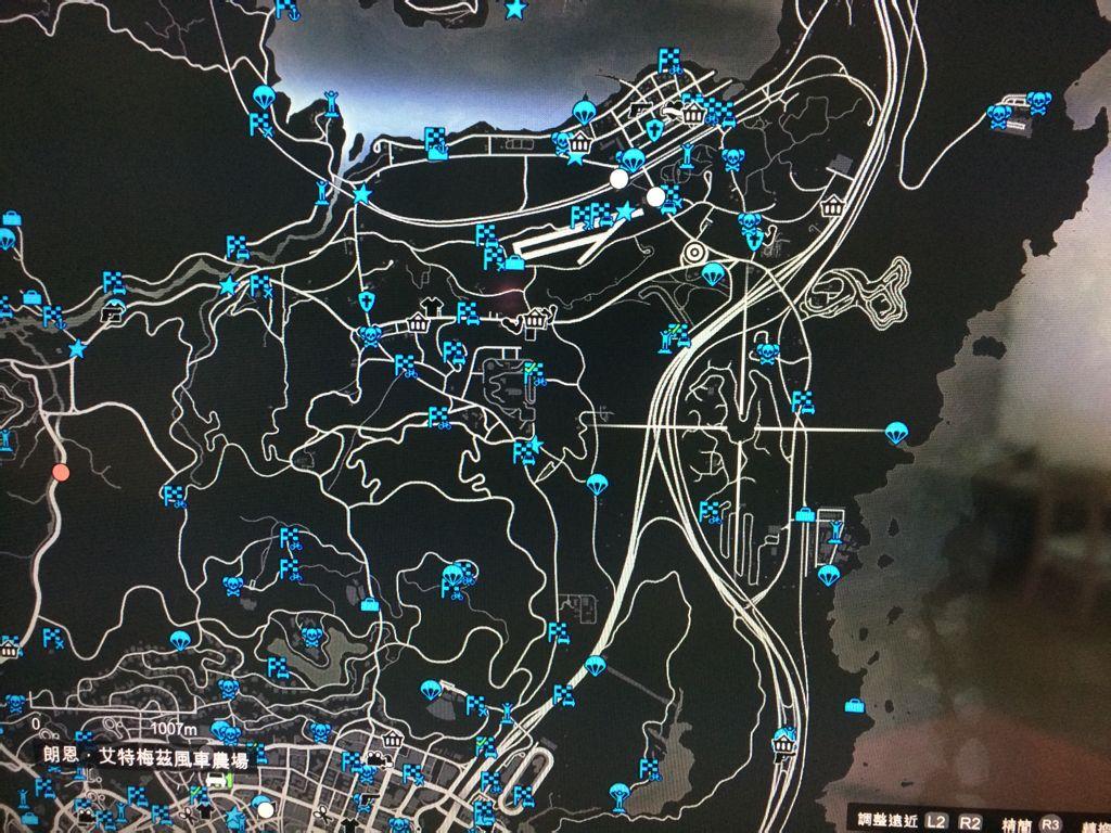 gta5里的朗恩·艾特梅兹风车农场在哪里 求地图图片