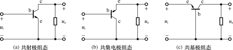 请教三种简单的三极管放大电路怎么画呢