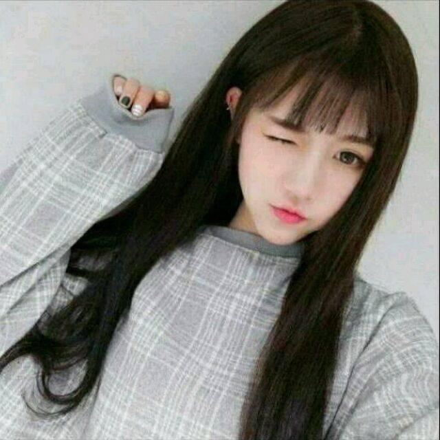 长脸适合什么刘海 长脸可以留刘海吗 八字刘海 空气刘海 齐刘海发型图片