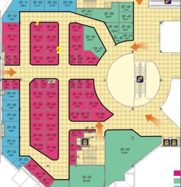 商场拐角设计图