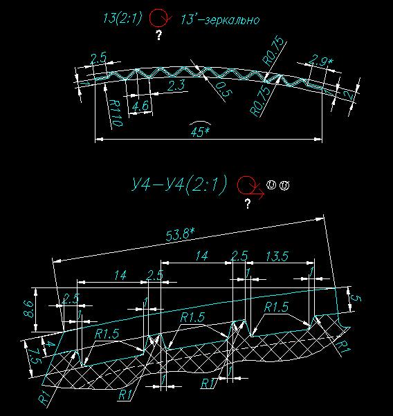 CAD图纸中所标的代表加图纸是箭头圆圈v图纸室内手绘意思图片