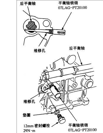 本田cd5发动机正时怎么对