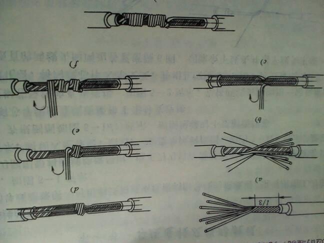 外线电工的接线方法.求详细图解.