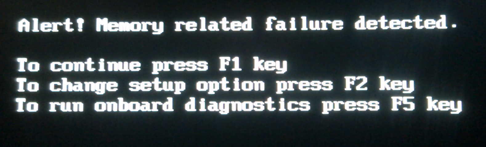 memory related failure detected 怎么处理?