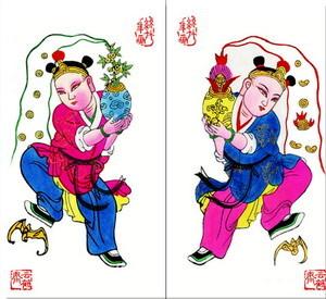 中国年画的年画四大家