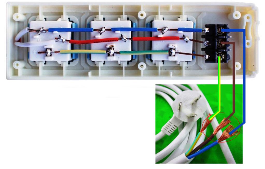 公牛gn-412k插座怎么接线图解