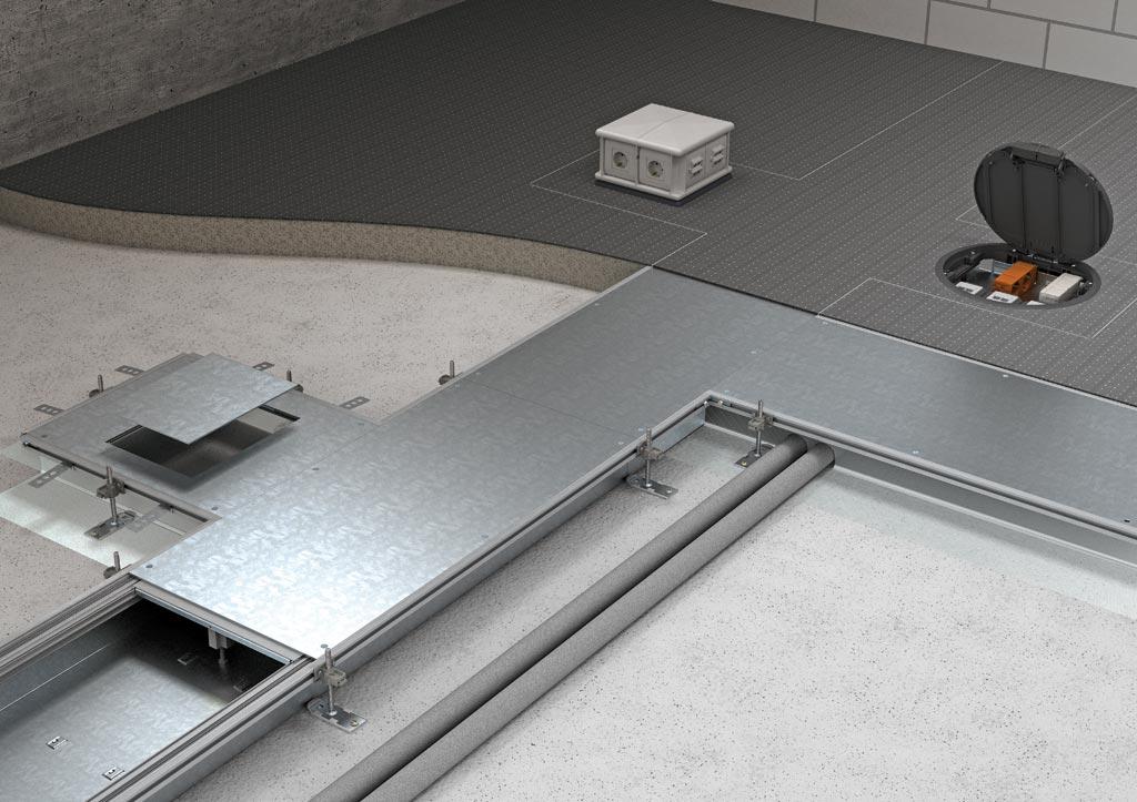 线槽安装方法图解