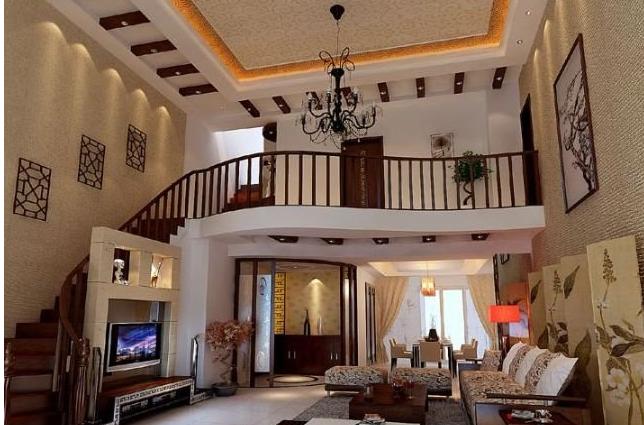 层高3米的小别墅做跃层?钱多少物业南京房子费一年图片