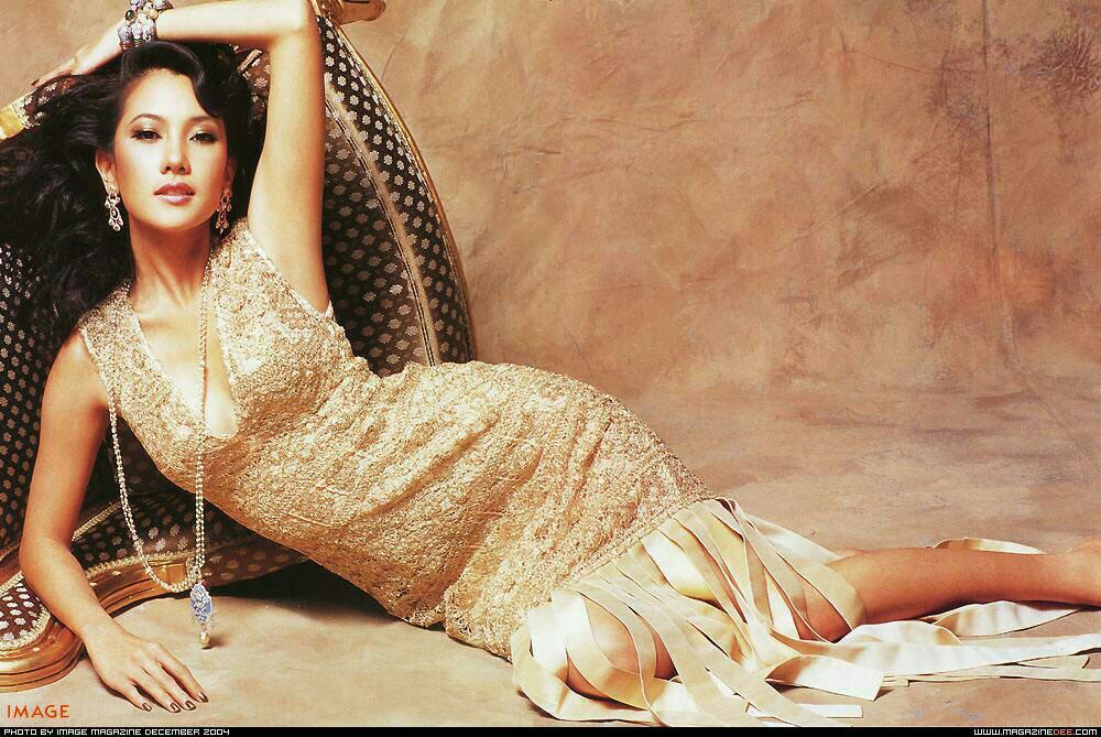 并不是泰国女星都不好看,泰国也有好看的女星.如泰国第一美女:noon图片