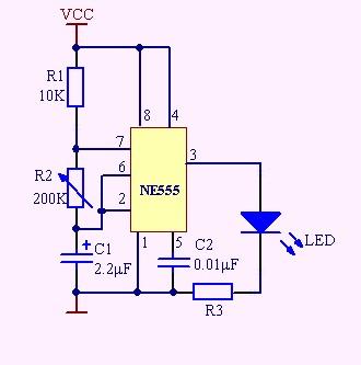 发光二极管在物理中怎么画?