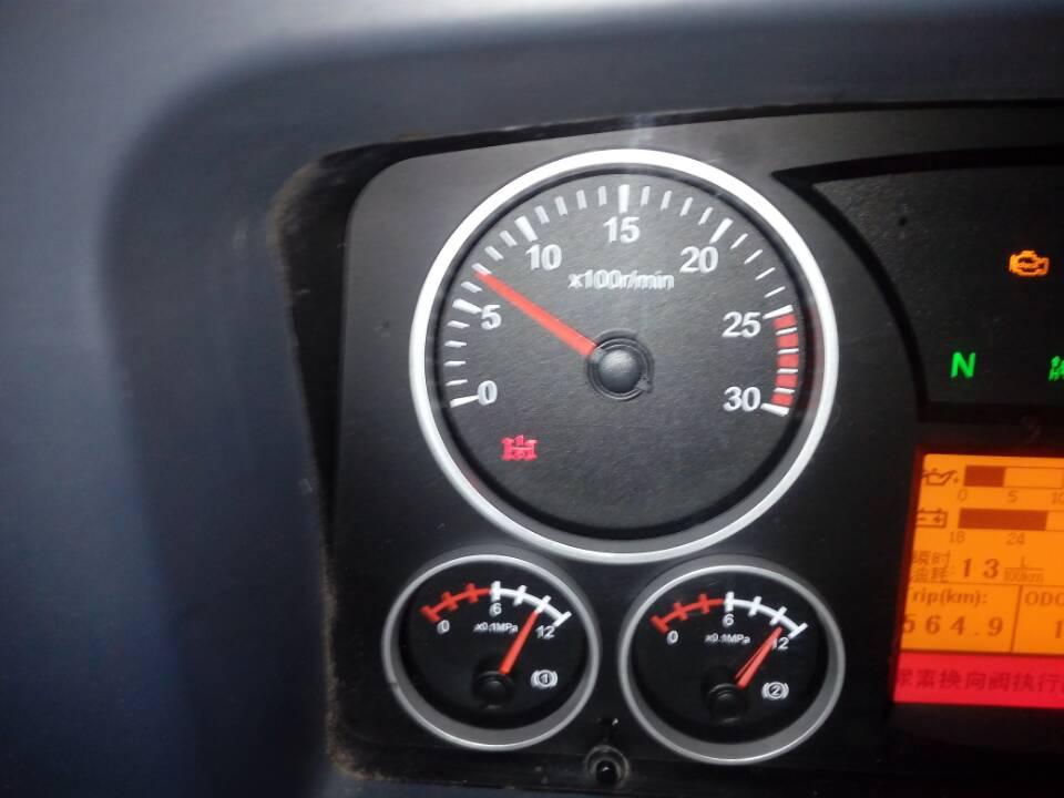 北奔重卡转速表下面是什么指示灯图片