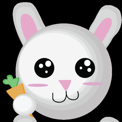 哪里有可爱的卡通胡萝卜和兔子的头像啊?