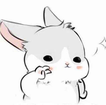 微信头像 手绘兔子