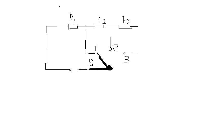 火力的电火锅,其简化电路如图所示s为单刀多掷开关,r1,r2,r3,为电热丝