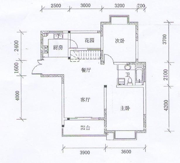 如何看懂房屋平面图图片
