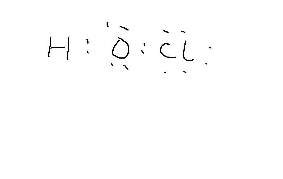 hclo的电子式怎么写的,有什么方法写电子式图片
