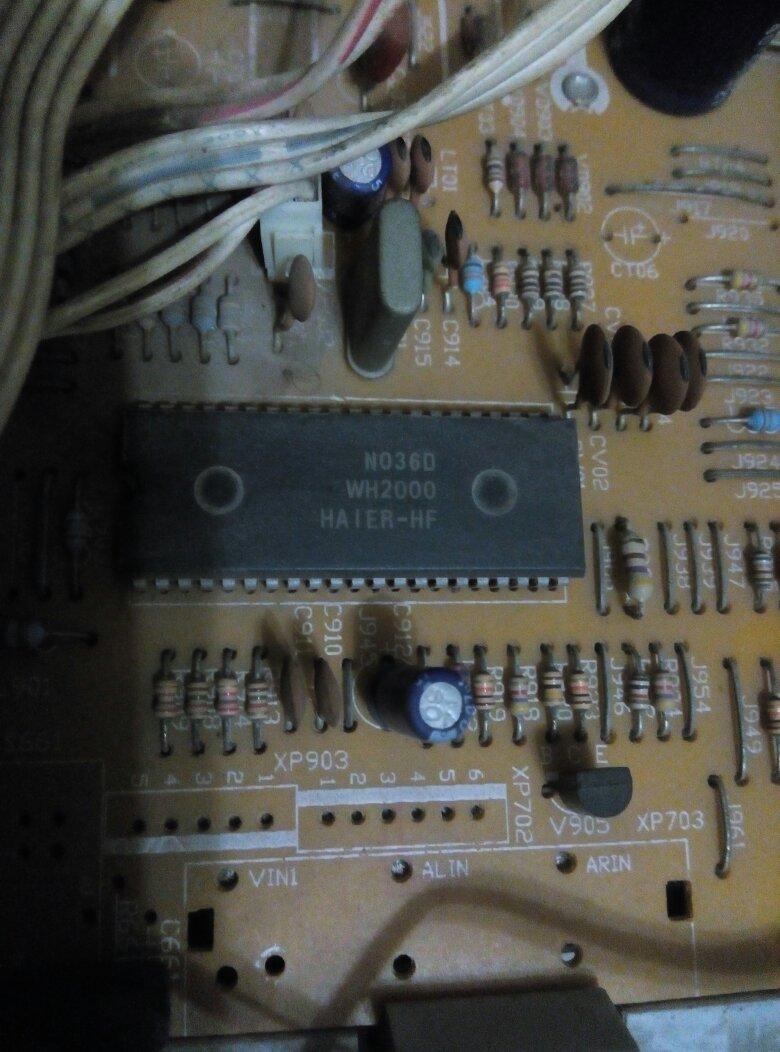 求海尔hp-2999电路图,该机电源,行输出电路基本工作正常,但是无法开机