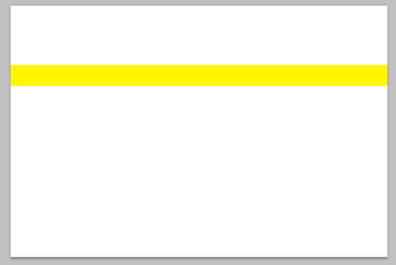 新建图层,使用矩形选区创建一条黄色矩形.图片