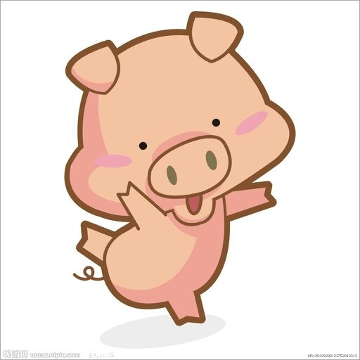 求可爱的猪头的头像,,,要卡通的.三次元就算了吧 .