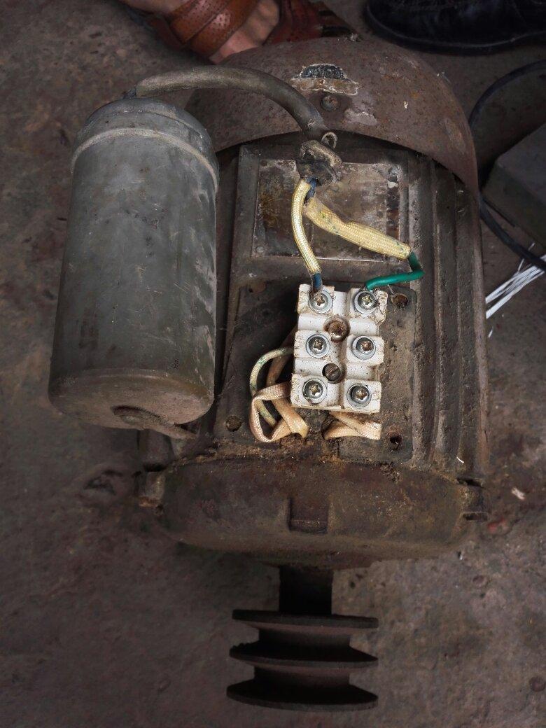 单相电机 单电容 怎么接线