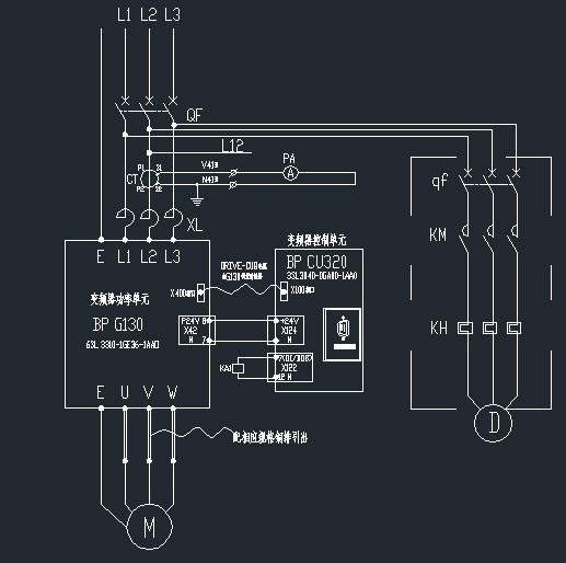 电动机的符号是圆圈里加m 还是圆圈里加d