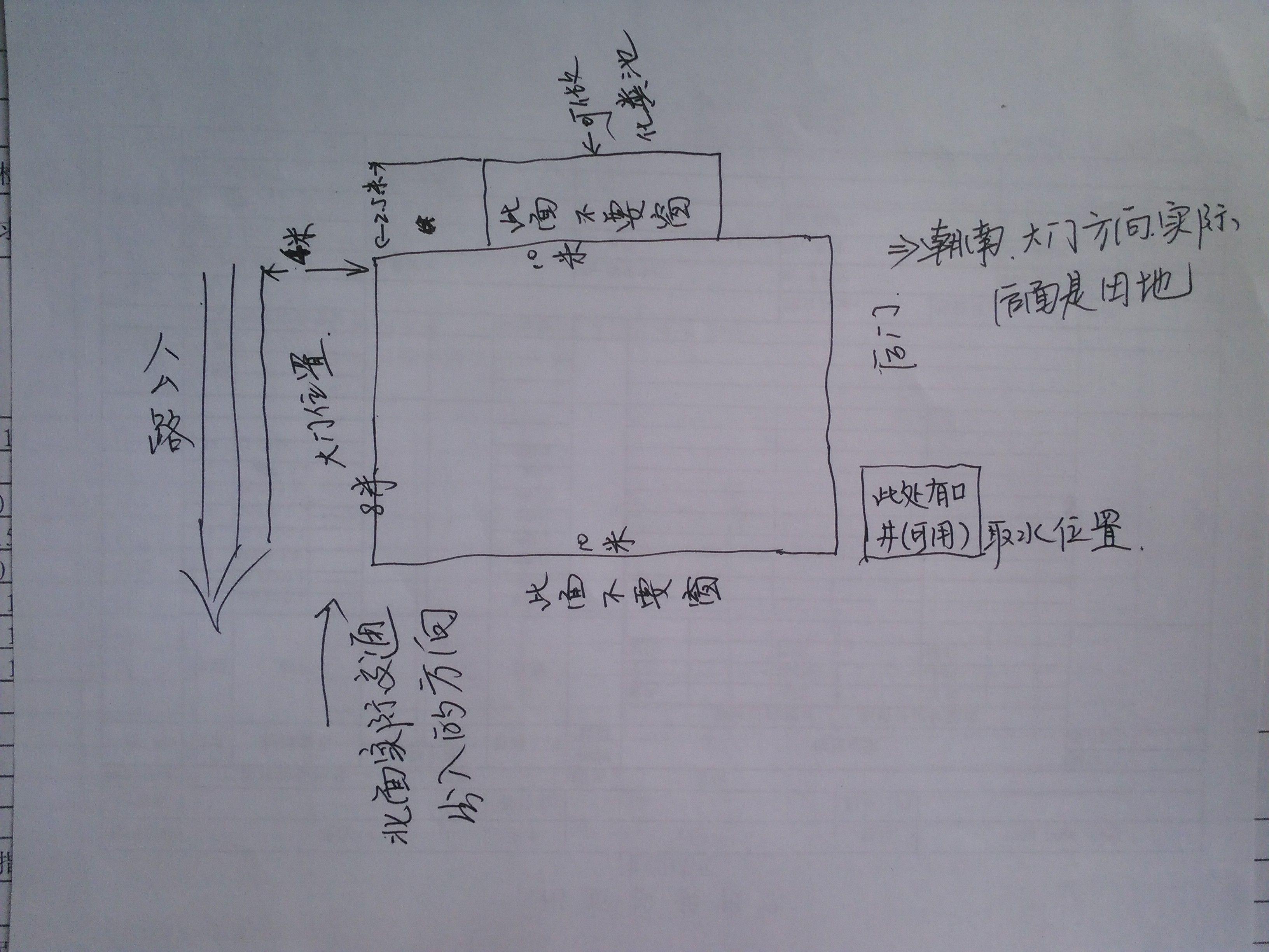 我一个空地宽8m长10m想建一个房子求设计图.图片