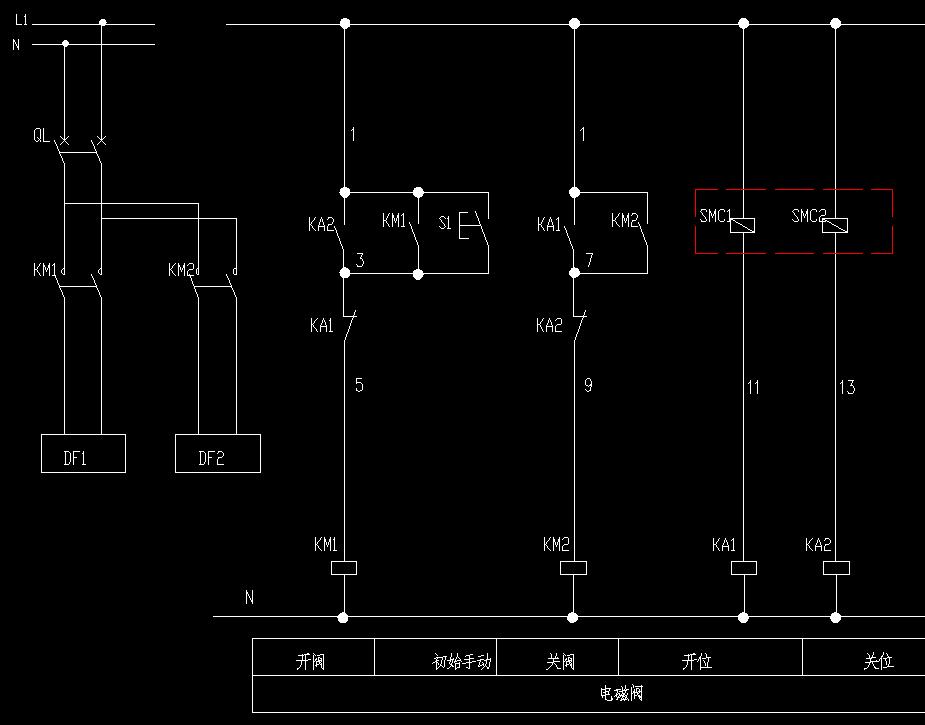 欧姆龙继电器2个电磁阀一只气缸一个磁性开关两心线的