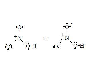 硝酸的路易斯结构式 + 解释+图图片