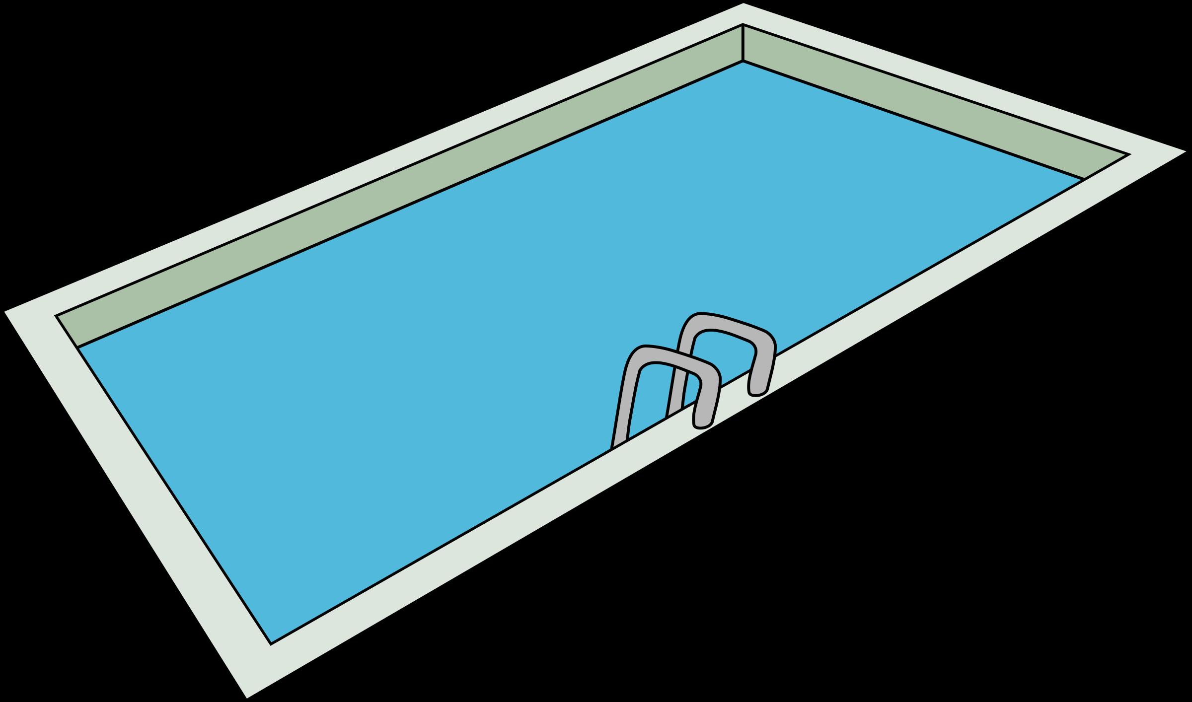 求一张游泳池 的简笔画 不需要太复杂`能看出是游泳池