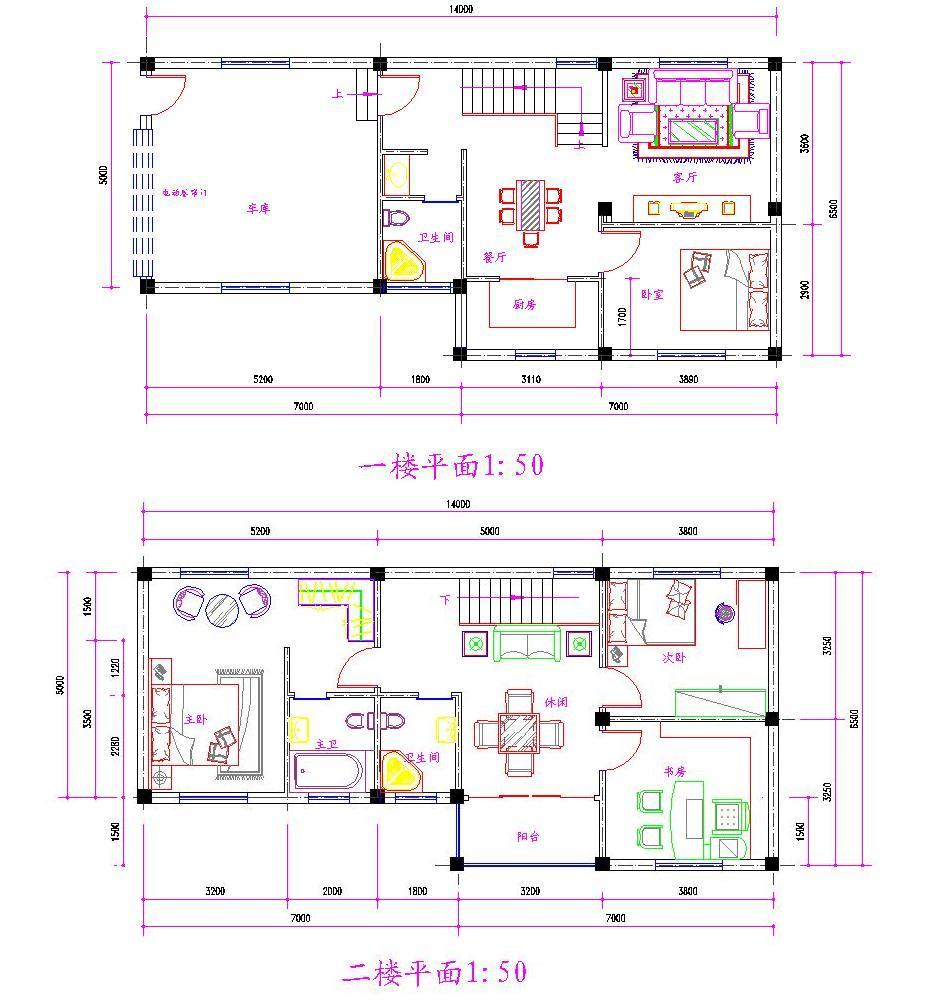 7.5x15米的房子设计图
