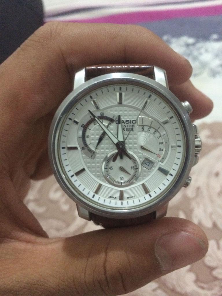 卡西欧手表怎么调时间