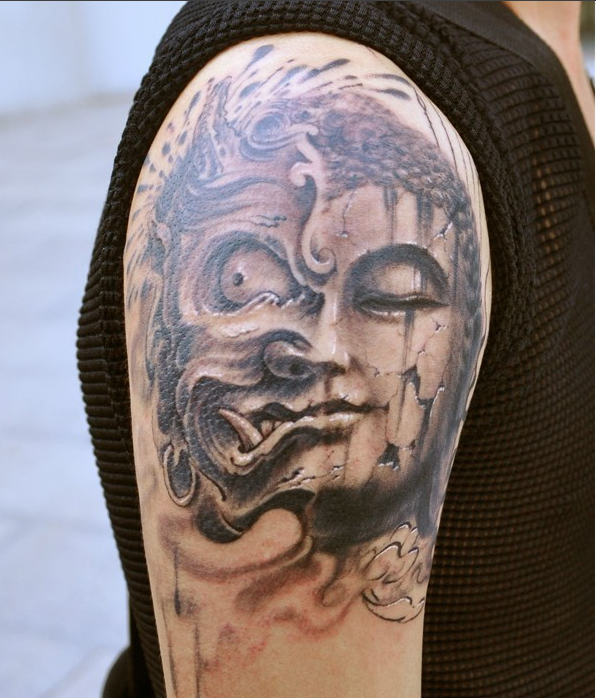 这个纹身图案叫什么? 有什么意义和说法吗?图片
