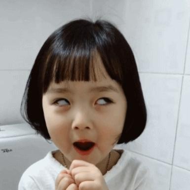 请问这个微信表情包翻白眼的小女孩是谁