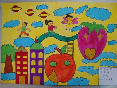 小学四年级美术作品图片