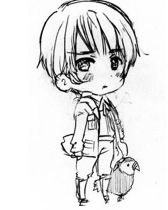 帮忙找一种很可爱的卡通男孩形象.