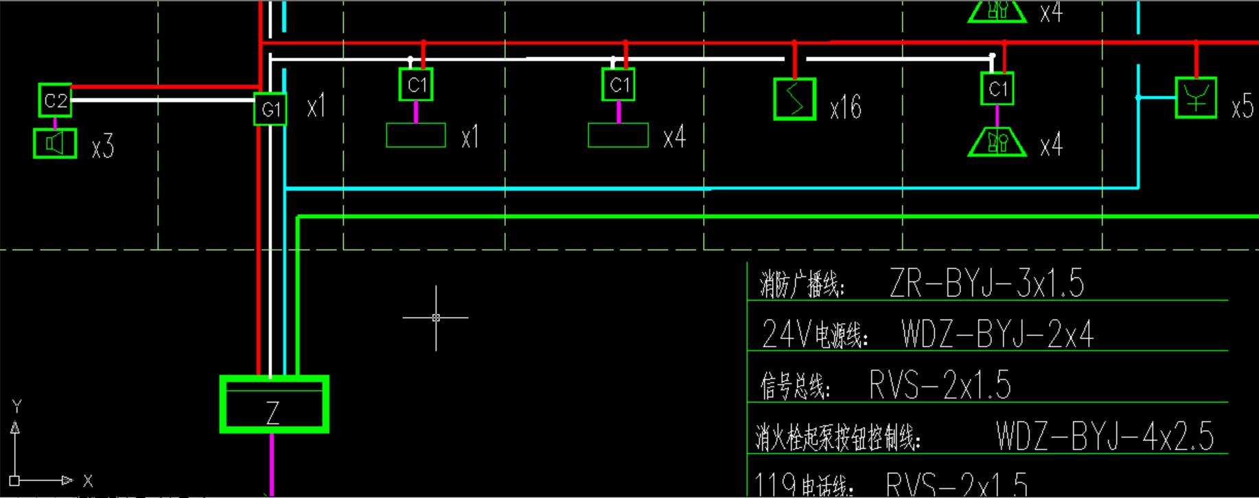 这种情况中,烟感与消防泵控制按钮是从总线隔离器接出来还是从总控制
