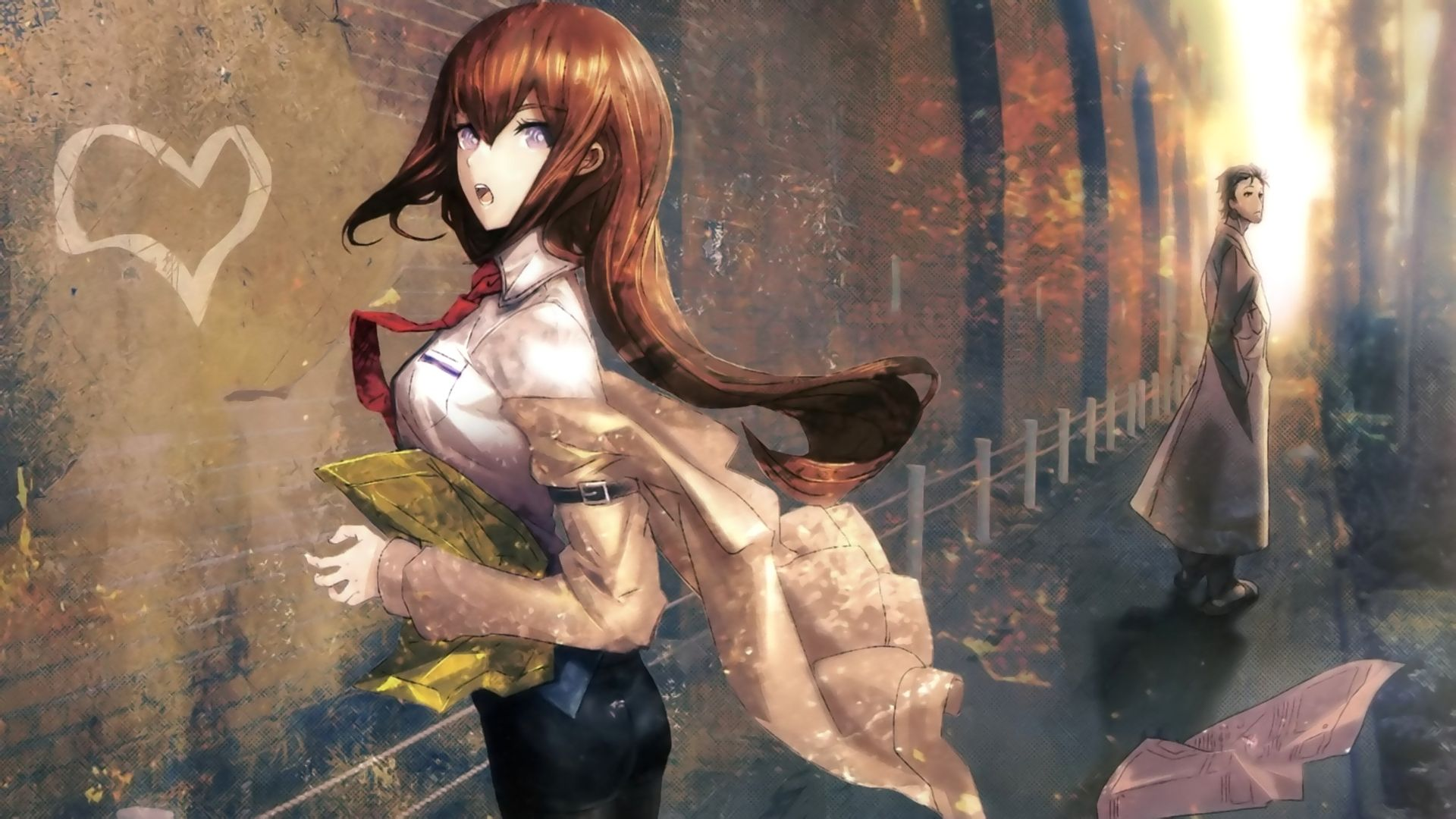 下载览禁少女游戏_命运石之门游戏插画运用的什么上色手法?