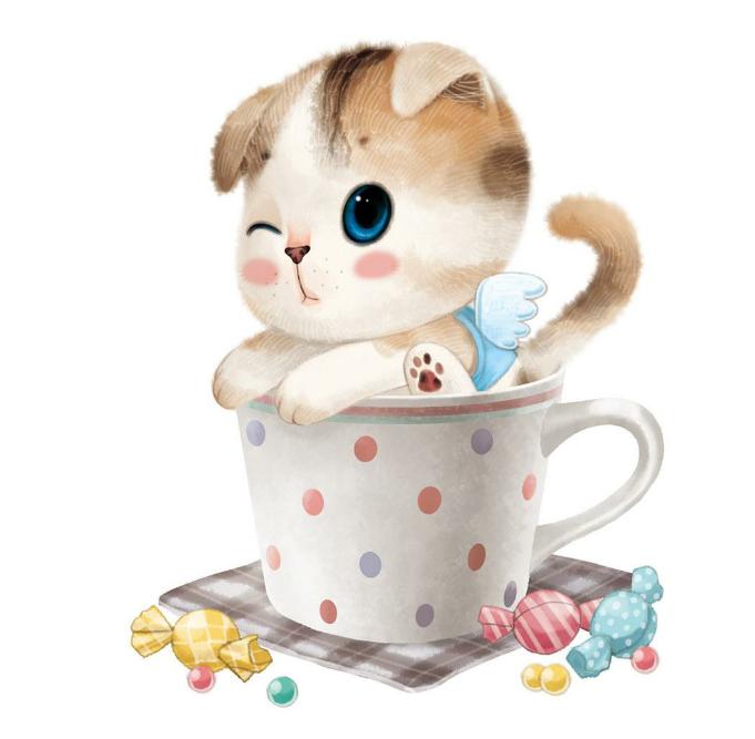 卡通小猫咪的图片?