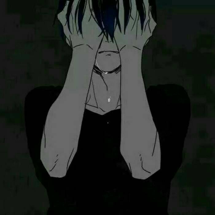 求一些悲伤表情的动漫图片_百度知道图片